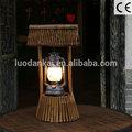light up restaurante de hotel mesa de luz decoração