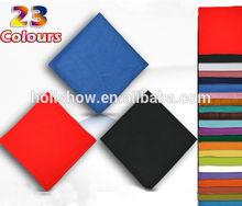 Multi Color 100% Cotton Square Plain Bandana