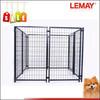 Outdoor 5x5x4ft heavy-duty wire folding metal kennel