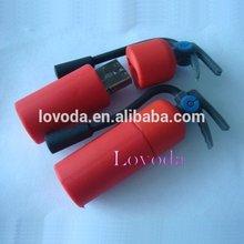 Professional factory supply 4GB fire extinguish shape usb flash drive/250gb usb flash drive/stock usb stick LFN-213