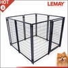 5x5x4ft Black cheap classic heavy-duty iron dog kennel