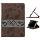 PU Leather stand Wallet Flip Case Cover for iPad Mini Full Sleep Wake Function