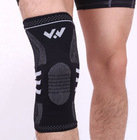 Knitting Knee Support Elastic Cotton Nylon Fiber Knee Brace Knee Pads