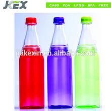 2015 sıcak satış yeni stil plastik soda şişesi logo baskı ile