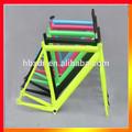 Jateamento de areia colorida 6061 crianças/adultos scott alumínio quadro de bicicleta