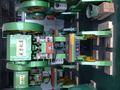Profesional de alta precisión amplia aplicación j23-25 silbato burbuja gomademascar línea de productos