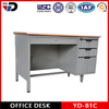 2013 hot sale office desk with feetrest and steel drawer cabinet lockable