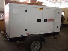 Global Service 150KVA Engine open type trailer landing gear leg