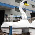 de fibra de vidrio 2014 cisne barco de agua del parque