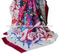 Mode foulard en soie d'impression numérique