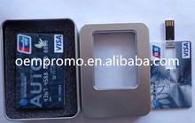 High Quality Webkey Card USB flash drive with your Own Logo, card shape USB