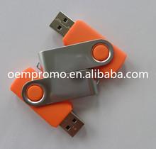 Cheap Rotate USB flash drive, Plastic Twist USB memory stick
