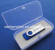 2014 Hot sale Promotional Rotate USB memory stick, Plastic Twist USB flash drive