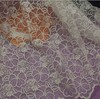 Fashion Lace Fabric for Women Dress Mesh Cotton Embroidery Guipure Lace Fabric