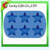 Hot sale Eco-friendly silicone cake mold star shaped fondant cake mould