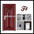 4728 novo estilo melhor qualidade tamanho padrão de portas de aço porta de segurança de metal portas