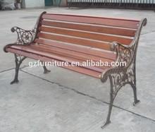 garden cast iron outdoor bench