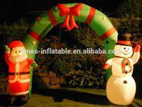Designer custom inflatable door arch for adverting
