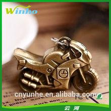 3D Metal Motorcycle Keyrings