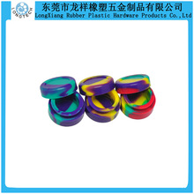 Colorful butane hash oil silicone container
