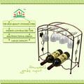 Hot vente de vin rack, bouteille de vin titulaire, support de vin& métal vin rack