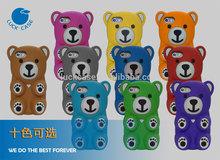 luckcase cartoon mobile phone case Lazy bear phone case factory