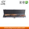 high quality aluminum rifle case silver double rifle gun case