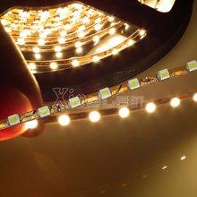 48 SMD Power 3528, Strip LED Light, WW/NW/CW12 V DC, 3MM Width