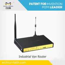 F3434 industrial cellular Router with external antenna support 3G network serial port RJ45