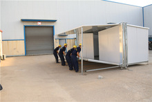Clean Thrifty prefabricated modular homes shipping container from hongkong to rotterdam