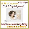 7 4:3 pulgadas ratio de panel digital marco de fotos electrónico de moda dpf