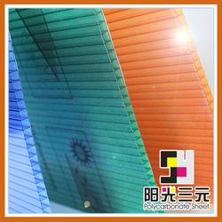 100% GE lexan UV-protection plastic solar panel polycarbonate sheet;PC sun sheet