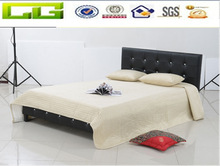 2014 beautiful cheap fashion leather bed