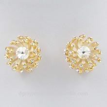 fashionable gold earring models latest design diamond earring studs