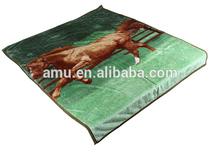 2014 hot selling king korean mink blanket/various kinds animal printed mink blankets