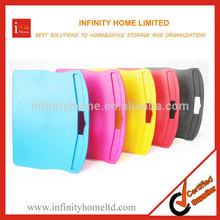 Wholesale Colourful Plastic Portable Lap Top Table
