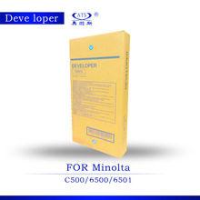 1000g developer C6500 CKMY compatible for Minolta DV610/ C500/ 6501 color copier spare parts