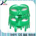 Hecho en china en relieve 3d pvc máscara de partido, baratos de plástico 3d máscara, la mitad facial máscara de partido