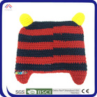 customized hand making animal cute winter kint hats