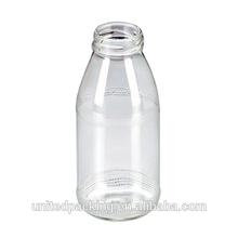 Small wholesale glass milk bottle
