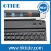 Smart bluetooth keyboard cover for galaxy s4 mini keyboard case
