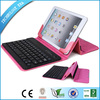 "2014 Promotional 7.9"" bluetooth keyboard with leather case for ipad mini with ios android windows syetem"