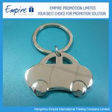 Wholesale promotional metal customized car metal keychain