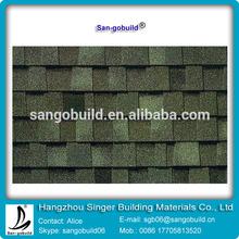 ISO9001:2008 roofing materials -Asphalt laminated asphalt shingle