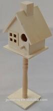 indoor decorative wooden bird house with windows