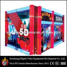 Electric/Hydraulic Mini Arcade Entertainment 9d 7d 5d cinema cabin