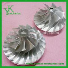 Stainless steel turbine impeller, high precision hot alloy wheel, impeller alloy wheel