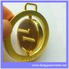 Custom swivel key metal tag label logo for handbag purse wallet