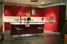 White Bespoke Kitchen cabinet design with Interior furniture import