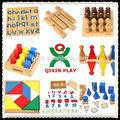 مجموعة كاملة حبة مونتيسوري/ تعليم الاطفال لعبة/ لعب الرياضيات/ qx-b4806